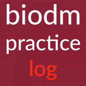 biodynamic massage practice log